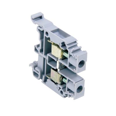 ABB 011511811 ABB 011511811 1SNA115118R1100 entrelec® Standard M6/8 Feed-Through Terminal Block; 600 Volt, 41 Amp, 8 mm Space, Screw Clamp Connection, Gray