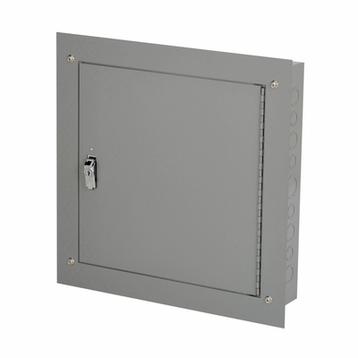 B-Line 12124TCF Cooper B-Line 12124TCF Telephone Cabinet; Surface Mount, ANSI 61 Gray