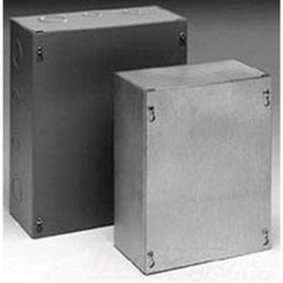 B-Line 1616SCF Cooper B-Line 1616SCF Cover; 16 Gauge Steel, ANSI 61 Gray, Flush/Screw Mount, Fits 16.000 x 16 Inch Enclosure