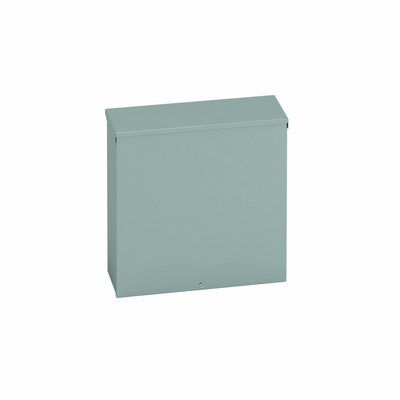 B-Line 18188RTSCNK Cooper B-Line 18188RTSCNK Junction Box; 16 Gauge Galvanized Steel, ANSI 61 Gray, Wall Mount, Screw-On Cover