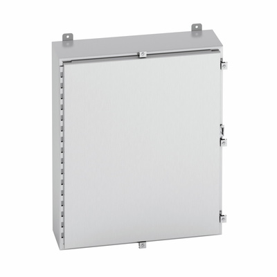 B-Line 20206-4XS Cooper B-Line 20206-4XS Enclosure; Wall Mount, 14 Gauge 304 Stainless Steel