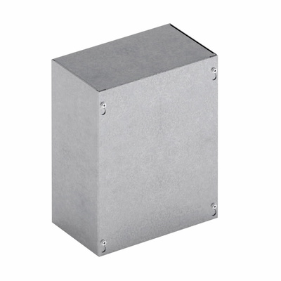B-Line 444SCNK Cooper B-Line 444SC-NK Junction Box; 16 Gauge Steel, ANSI 61 Gray, Wall Mount, Screwed Cover