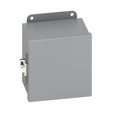 B-Line 863.5-12CHC B-Line 863.5-12CHC B-Line 8 in. x 6 in. x 3 1/2 in. JIC Continuous Hinge Cover