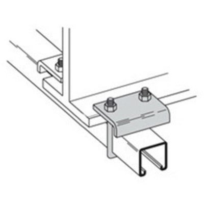 B-Line B441-22AHDG Cooper B-Line B441-22AHDG Beam Clamp; 3/4 Inch, Low Carbon Steel, Hot-Dip Galvanized