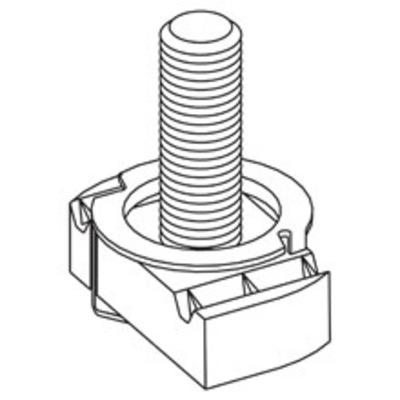 B-Line STN225-1ZN Cooper B-Line STN225-1ZN Twirl Stud Nut; 1/2-13, 1 Inch Stud Length, Steel, Zinc Electroplated
