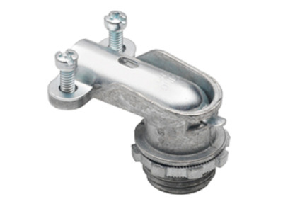 Bridgeport Fittings 806-DC2 Bridgeport 806-DC2 90 Degree  Flexible Metal Conduit Connector; 3/4 In