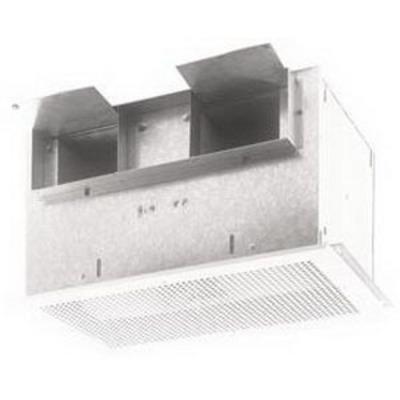 Broan - Fans L400K Broan Nu-Tone L400K Ventilator; 120 Volt, 1.4 Amp, 415 cfm At 0.100 Inch, 406 cfm At 0.125 cfm, 370 cfm At 0.250 Inch, 4-1/2 Inch Length x 18-1/2 Inch Width Duct, 146 Watt, Ceiling/Wall Mount, Painted Enamel Grille, White