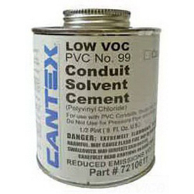 Cantex Pvc Fittings 7211305 Cantex 7211305 Low VOC Primer; 1 gal, Can, Ethereal Odor, Thin Liquid, Clear/Purple