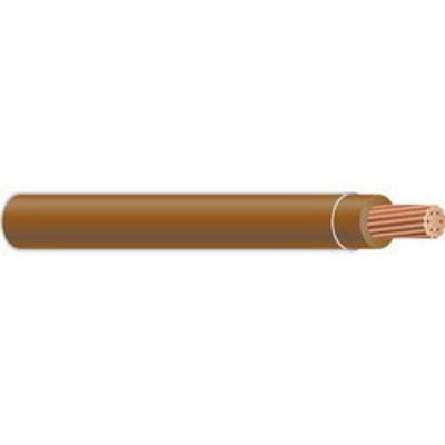 Copper Wire THHN-STR-14 TAN CU WIRE Copper Building Wire THHN Cable; 14 AWG, 19 Stranded, Copper Conductor, Tan, 500 ft Spool/Reel