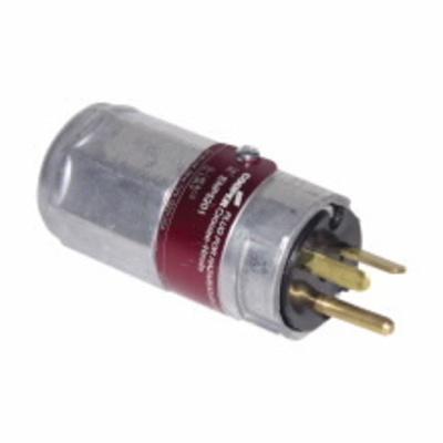 Crouse Hinds ENP5201 Crouse-Hinds ENP5201 Ark-Gard Straight Blade Hazardous Area Plug;  20A, 125 Volt
