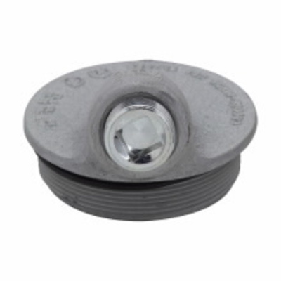 Crouse Hinds GUA041 Cooper Crouse-Hinds GUA041 Sealing Cover; 2 Inch, Threaded, Feraloy® Iron Alloy
