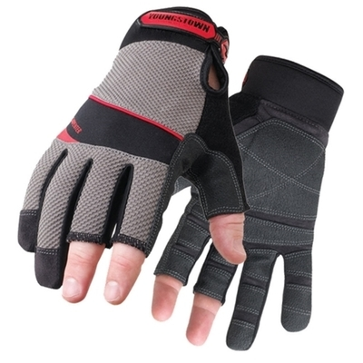 Cully Fasteners Minerallac 67553 67553 CULLY 1/2 FINGER PRO GLOVE LG BLACK