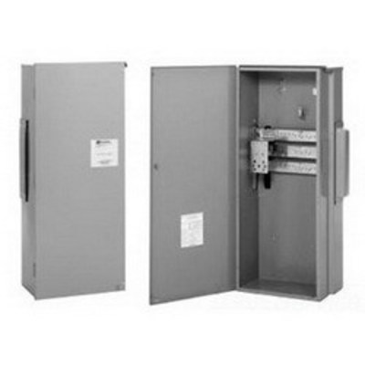 Cutler Hammer Eaton 3MTB400R Eaton / Cutler Hammer 3MTB400R Terminal Box; 400 Amp, 120/208 Volt AC, Aluminum