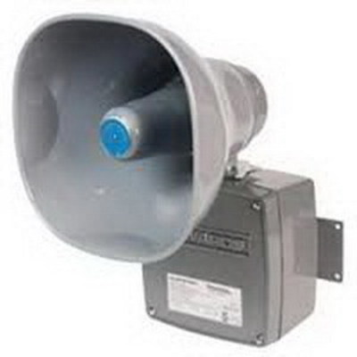 Edwards Signaling Devices 5531M-24AQ Edwards 5531M-24AQ 5531M Series Adaptatone Millennium Electronic Multiple Tone Signal; 24 Volt AC/DC, 110 DB At 10 ft, Gray