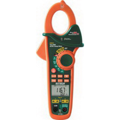 Flir Tools EX623 FLIR (Extech) EX623 Dual Input AC/DC Clamp-On Meter With NCV Detector and IR Thermometer; 400 Amp