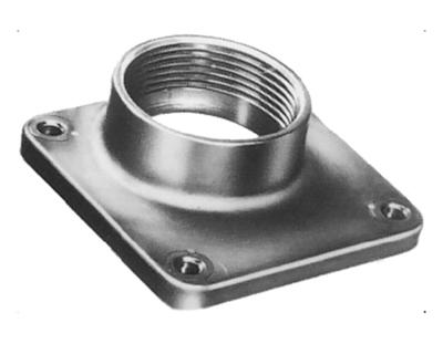 GE DISTRIBUTION TC125 GE Distribution TC125 Universal Raintight Aluminum Hub; 1 1/4 In