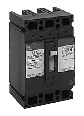 GE Distribution TED134050WL GE Distribution TED134050WL E150 Molded Case Circuit Breaker; 50 Amp, 480/600 Volt AC, 500 Volt DC, 3-Pole