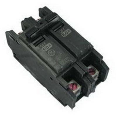 GE Distribution THQC2150WL GE Distribution THQC2150WL Molded Case Circuit Breaker; 50 Amp, 120/240 Volt AC, 2-Pole, DIN Rail Mount