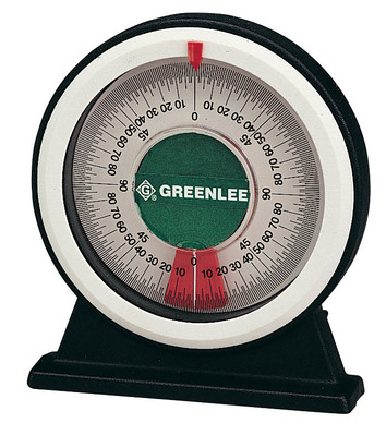 Greenlee Tools 1895 Greenlee 1895 Large Bending Angle Protractor With Magnetic Base; 8.900 Inch Length x 6.400 Inch Width x 1.500 Inch Height