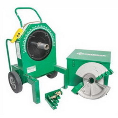 Greenlee Tools 555RSC Greenlee 555RSC 555 Classic Electrical Bender with Single Rigid Shoe; 1/2-2 Inch Conduit