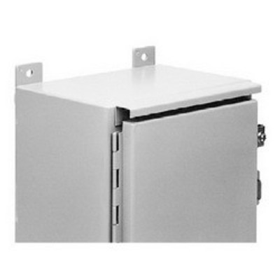 Hoffman Enclosures ADK72A Hoffman ADK72A Drip Shield Kit; Steel, ANSI 61 Gray, Fits 72 Inch Width Enclosure