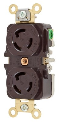 Hubbell Wiring Devices HBL4700 Hubbell HBL4700 Wiring Devices Connector, Power ENTRY, Receptacle, 15A