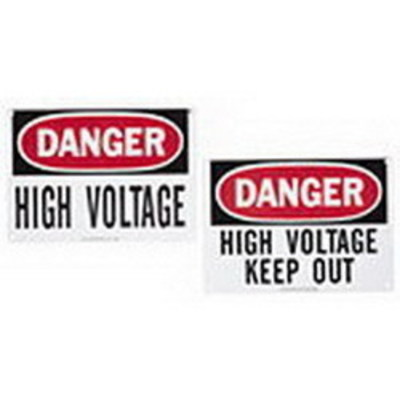 Ideal 44-880 Ideal 44-880 Safety Sign; Reinforced Plastic