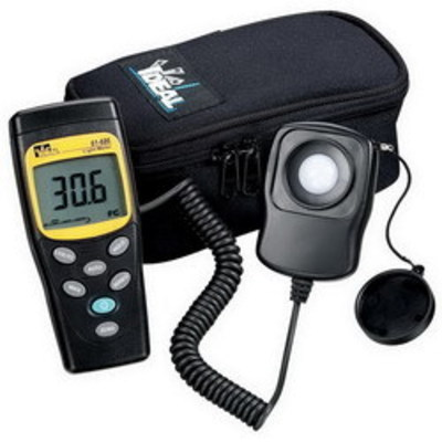 Ideal 61-686 Ideal 61-686 Digital Light Meter; 20000 FC Or 200000 Lux