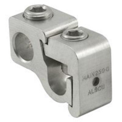 Ilsco GTT-350-350 Ilsco GTT-350-350 T-Tap Connector Kit, 2-7/16 inch Length, 1 inch Width, 1-11/16 inch Height, 350 kcmil - 6 AWG, 3/8 inch