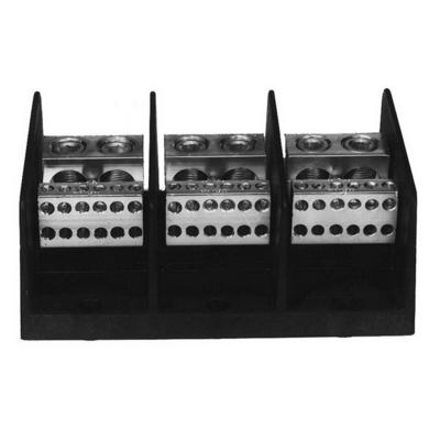 Ilsco PDB-16-500-3 Ilsco PDB-16-500-3 Power Distribution Block; 600 Volt, 380 Amp