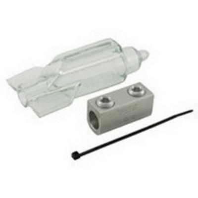 Ilsco SPAR-500 Ilsco SPAR-500 ClearSplice™ Mechanical Splicer/Reducer; 500 MCM-3/0 AWG, 600 Volt, Aluminum, Tin Plated