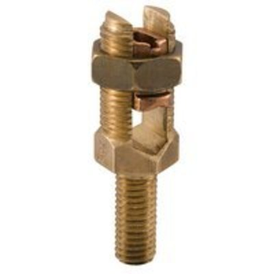 Ilsco SPSL-6 Ilsco SPSL-6 Service Post Mechanical Connector; 2 AWG Solid, 2-2/0 AWG Stranded, 1/2-13 x 1-1/4 Inch
