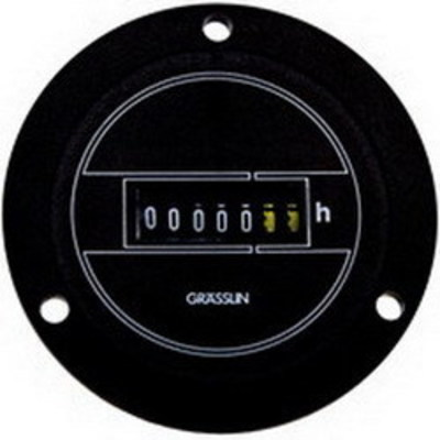 Intermatic, Inc. FWZ72-120U Intermatic FWZ72-120U AC Hour Meter; 99999.99 Hour, Black, 120 Volt AC