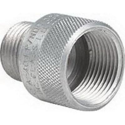 Killark Fittings ADUP-01 Hubbell Electrical / Killark ADUP-01 Adup Adapter; 3/8 Inch x 1/2 Inch, Copper-Free Aluminum, Male x Female