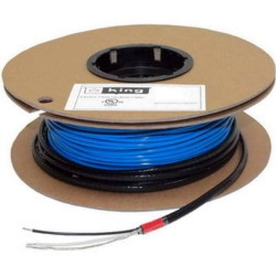 King Heaters FC12180 King Electrical FC12180 Heating Cable; 180 Watt 60 ft Length