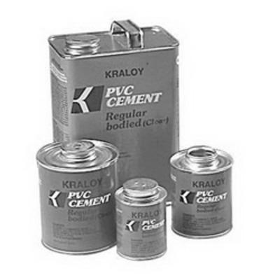 Kraloy Ent & Pvc Fittings CEMC20 Scepter 078885 Scepter-100 Conduit Cement; 1 qt