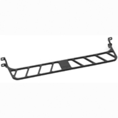 Leviton 49005-DMB Leviton 49005-DMB QuickPort® High Density Cable Management Bar; Rack Mount, Black