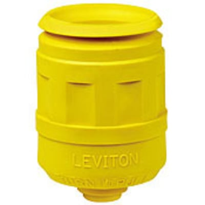 Leviton 6017-LY 6017-LY LEVITON #1CD/PLUG BOOT LCKG