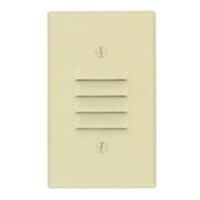 Leviton 86080 Leviton 86080 Standard 1-Gang Weather-Resistant Cover; Strap Mount, Metal, Ivory