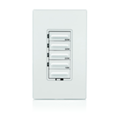 Leviton LTT60-1LW Leviton LTT60-1LW Decora® Preset Countdown Timer Switch; 60 min, White