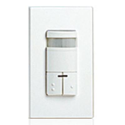 Leviton ODS0D-IDW Leviton ODS0D-IDW Decora® Passive Infrared Occupancy Sensor; 120/277 Volt AC, 2100 Sq ft, Automatic Off, Manual On, White