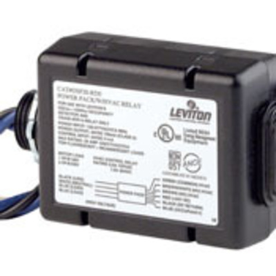 Leviton OSP20-RD0 Leviton OSP20-RD0 Occupancy Sensor Power Supply Pack; 20 Amp, 120-277 Volt