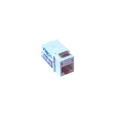 Lutron CON-1P-C6-WH Lutron CON-1P-C6-WH Single Pack Cat 6 Phone Jack