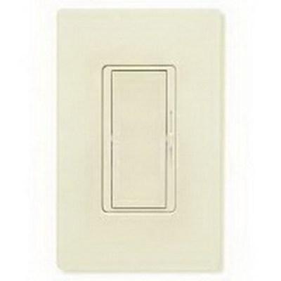 Lutron DV-603PH-LA Lutron DV-603PH-LA Diva® Single Pole 3-Way Preset Slide Dimmer with Paddle On/Off Switch; 120 Volt AC, 600 Watt, Incandescent/Halogen, Light Almond