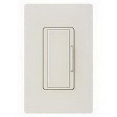 Lutron MA-R-LA Lutron MA-R-LA Maestro® Companion Tap On/Off Dimmer Switch; 120 Volt AC, Light Almond