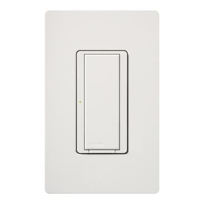 Lutron MA-S8AM-WH Lutron MA-S8AM-WH Maestro® Digital Switch; 1-Pole, 120 Volt AC, 8 Amp Light, 3 Amp Fan, White