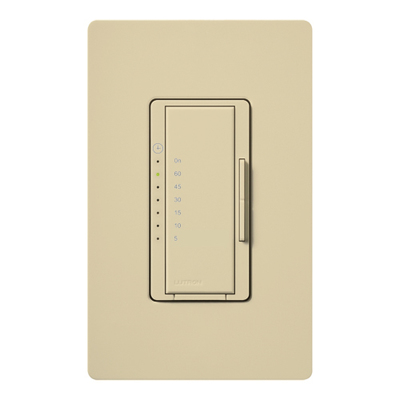 Lutron MA-T51-IV Lutron MA-T51-IV Maestro® Preset Countdown Timer Control Switch; 5 - 60 min, Ivory