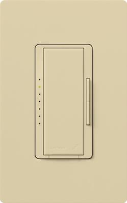Lutron RRD-10ND-IV Lutron RRD-10ND-IV 1-Pole Dimmer Switch, 120 V, 1000 W, Ivory