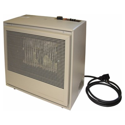 Markel, Tpi, & Fostoria Qmark H474TMC TPI/Raywall H474TMC 474 Series Fan Forced Portable Dual Heat Heater; 240 Volt, 8.3/16.6 Amp, 1 Phase, 2/4 kilowatt, 50/60 Hz