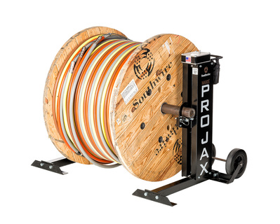 Maxis Cable Pulling Solutions MPJ-02 58526401 SOU CABLE REEL STAND